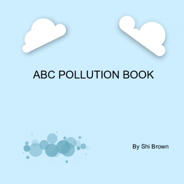 ABC Pollution Book
