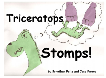 Triceratops Stomps!
