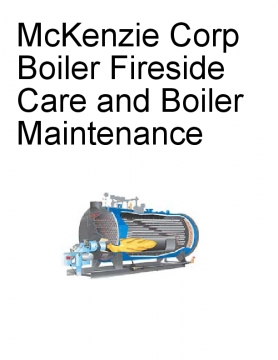 McKenzie Corp Boiler Fireside Care and Boiler Maintenance