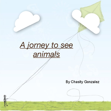 A journey to see animals