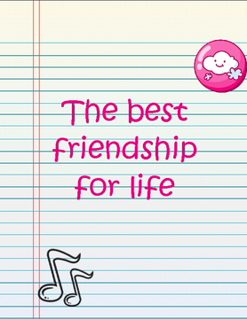 The very best friend ships for life
