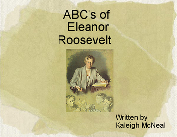 ABC of Eleanor Roosevelt