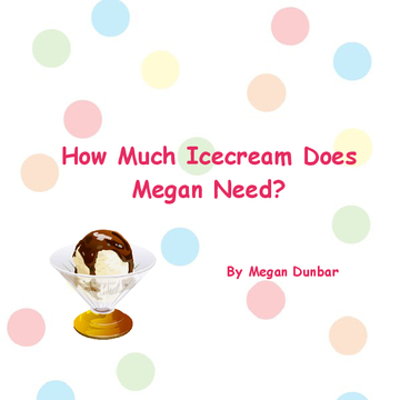 How Much Icecream Does Megan Need?