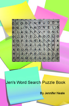 Jen's Word Search Puzzle Book