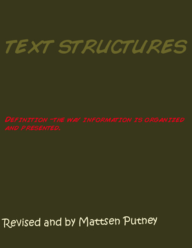 Text structures