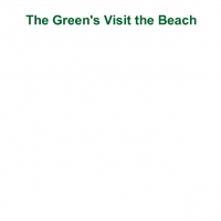 The Green's Visit the Beach