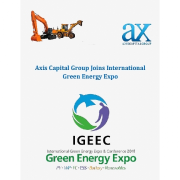 Axis Capital Group Joins International Green Energy Expo