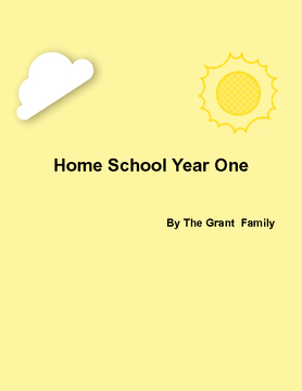 Homeschool Year One