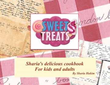 Sharia's delicious cookbook