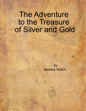 the adventure to the treasure of  silver and gold
