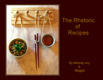 The Rhetoric of Recipes