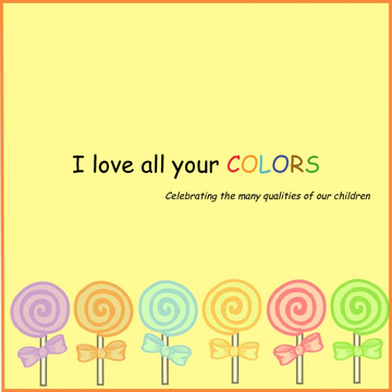 I love all your colors