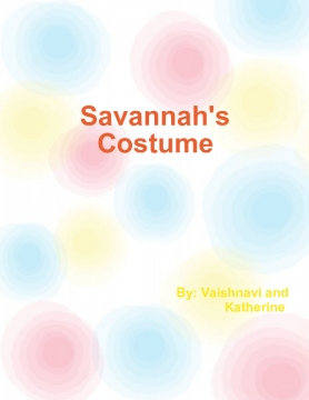 Savannah's Costume