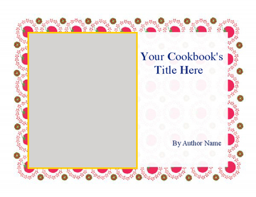 recipe book template word