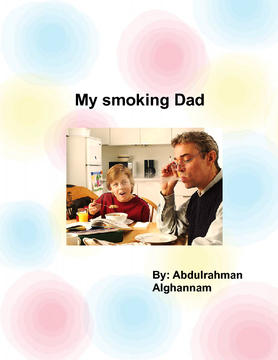 My smoking dad