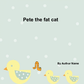 Pete the fat cat