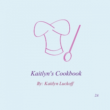 Kaitlyn's Cookbook