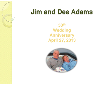Jim and Dee 50 Years