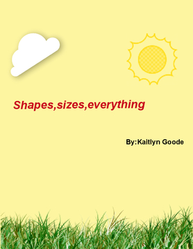 Shapes,sizes,everything