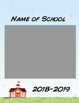 8.5 x 11 Yearbook Template