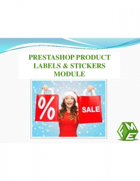 How to Add Labels to the Products images in PrestaShop?