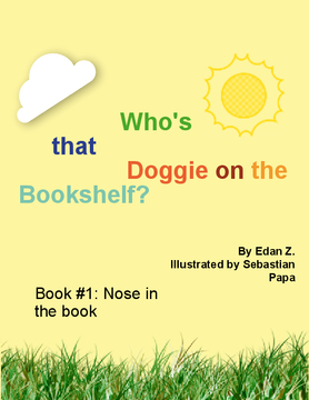 Who's that Doggie on the Bookshelf?
