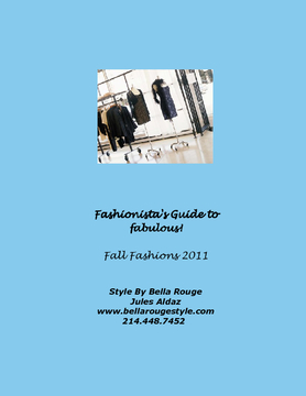 Fall Fashion Style Guide 2011