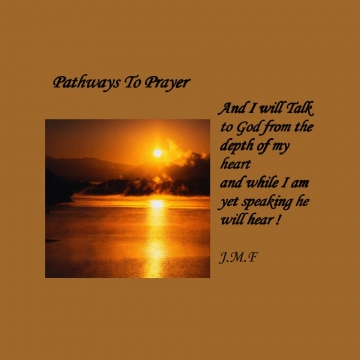 Pathways To Prayer !