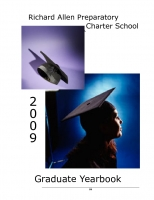 Richard Allen Preparatory Charter School 2009 Graduate Yearbook