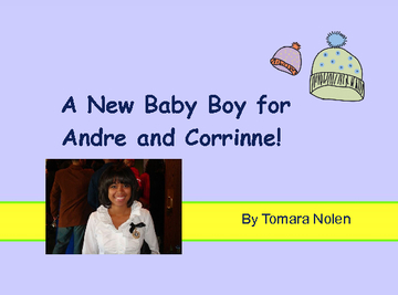 A New Baby Boy for Andre and Corirnne