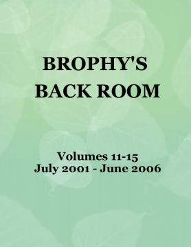 Brophy's Back Room - Volumes 11-15