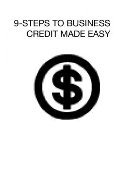 9-STEPS TO BUSINESS CREDIT