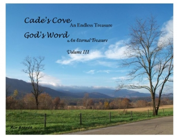 Cade's Cove An Endless Treasure God's Word An Eternal Treasure Vol. III
