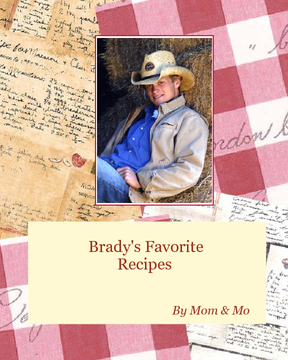 Brady's Family Cookbook