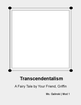 Transcendentalism: A Fairy Tale