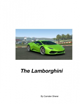 The Lamborghini