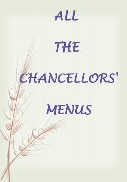 All the Chancellors Menus