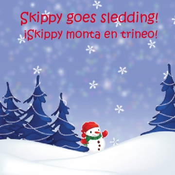 Skippy goes Sledding!