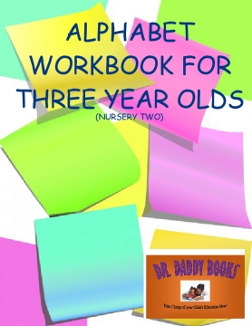 Alphabet workbook ONE