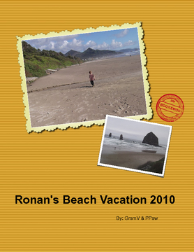 Ronan's Beach Vacation
