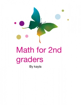 Math for 2nd graders