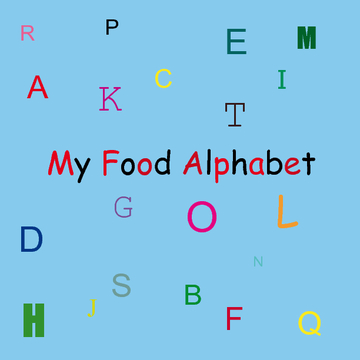 My Food Alphabet