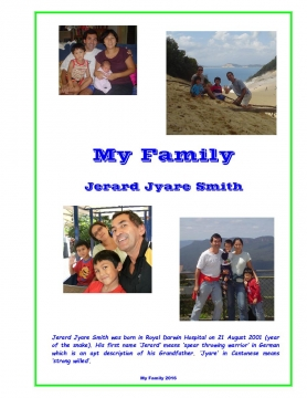 Jerards' Family Book