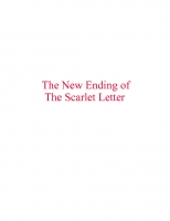 The New Scarlet Letter Ending