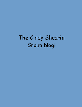 The Cindy Shearin Group blogi