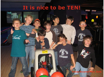 It is nice to be TEN