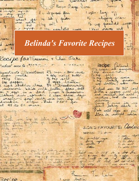 My Family's Favorite Recipes