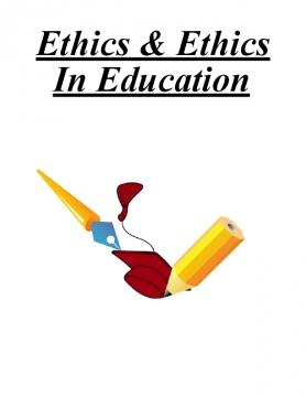 Ethics & Ethics In Education