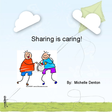 Sharing is care?
