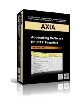 Axia Consultants: Accounting Software RFI/RFP Template